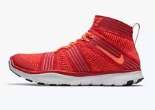 Nike Free Train Virtue Training Shoes Men's US 12 Red Orange 898052-600 NEW