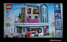 LEGO Creator Expert Downtown Diner American Amerikanisches Diner 10260 NEU/OVP