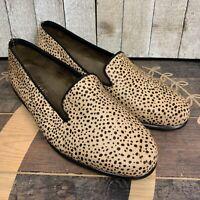 Aerosoles Betunia women's animal print cheetah loafers slip on shoes size 7.5M