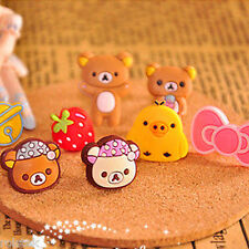 "Clearance-- 3.5mm Earphone Anti Dust Plug""Cute Bear"" iPhone Samsung"