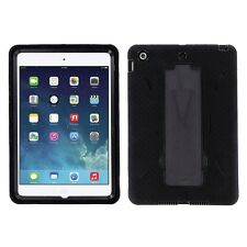 Black Hybrid Shockproof Hard Case Skin Stand for Apple iPad Mini 1 2 3 7.9-inch