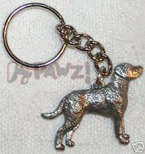 Chesapeake Bay Retriever Chessie Pewter Keychain Key Chain Ring