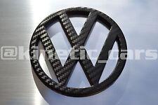 VW carbon effect emblem 100mm T4 grille