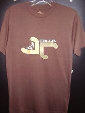 Calle Soccer Men's Jolla Tee Brown Size S