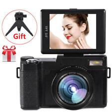 "G36 3"" Digital Camera Full Hd 1080P Vlogging Video Camcorder 24Mp w/ Free Tripod"