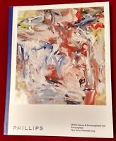 Phillips Catalog 20th Century & Contemporary Art Evening Sale Nov 8 2015 NYC