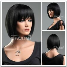 Short Blank Full Synthetic Hair Wigs straight Bob женщины парик Women Wigs Good