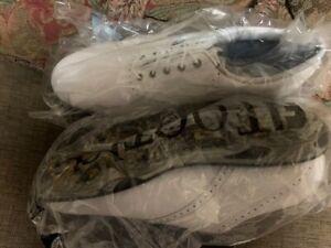 New Footjoy DryJoy White Golf Shoes 9.5 M