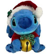 Disney Store Exclusive Lilo & Stitch Holiday Ornament Plush Santa Hat