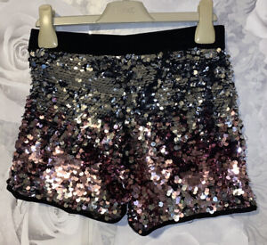 Girls Age 6-7 Years - M&S Sequin Covered Shorts