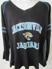 Jacksonville Jaguars Womens Plus Size 3X Long Sleeve Screened T-shirt AJJS 129