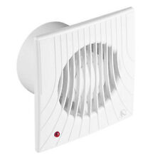 """Bathroom Extractor Fan with Timer 150mm / 6"""" Kitchen Wall Ventilator WA150T"""