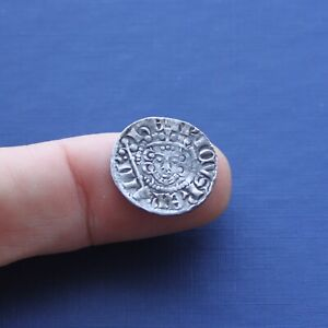 Hammered Silver Coin Henry 3rd Long Cross Penny C 1247 AD