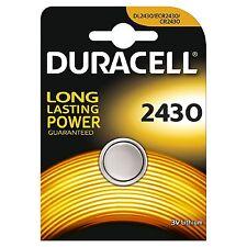 Pilas litio Duracell X1 Dl2430 Cr2430 2430 K2430l1220