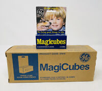 12 - 3-Packs VINTAGE GE Magic Cubes MAGICUBES 12 Flashes / 3 Pack - 144 Flashes