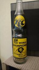 1975 RC cola Steelers bottle