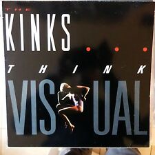 THE KINKS LP THINK VISUAL 1986 GERMANY VG++/EX