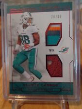 2016 PANINI NATIONAL TREASURES LEONTE CARROO 4 COLOR PATCH AND BALL /88 DOLPHINS