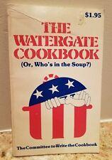 The Watergate Cookbook Vintage 1973 Paperback Nixon, Kennedy, Erlichman, Hunt