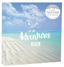"Memories 200 Holds Slip In Photo Album 4'' x 6""With Memo Area Travel"