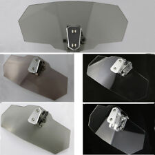 BUELL 1125 All Years Adjustable Clip on Windshield Windscreen Spoiler Gray