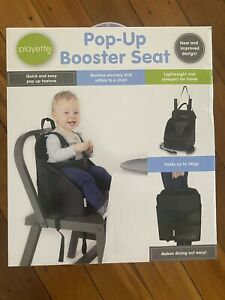 Pop Up Booster Seat
