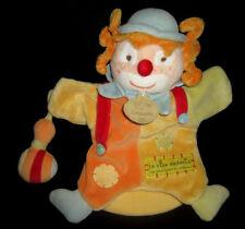 Doudou et Compagnie Marionnette Clown jaune orange bleu vert le rire médecin