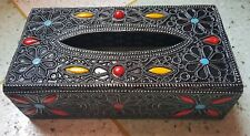 Moroccan arabic handcrafted tissue box LARGE