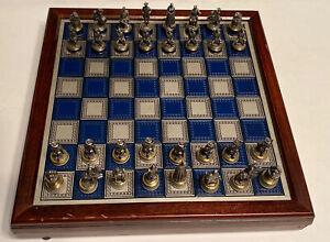 Franklin Mint Civil War Chess Complete Set