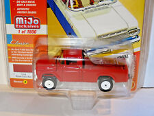 JOHNNY LIGHTNING MIJO EXCLUSIVES RED 1959 FORD F-250 PICKUP TRUCK VERSION A