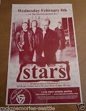 STARS Canadian band Concert Gig Poster