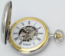Regent Skelett Taschenuhr mit Kette NEU! UVP* 148,00 EUR
