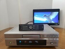 DENON DVD-3910 Universal DVD-V DVD-A SACD HDCD MP3 WMA-9 CD-R/W Player Remote