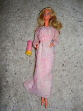 1970'S VINTAGE KISSING BARBIE IN ORIGINAL DRESS #2597 W/ LIPSTICK