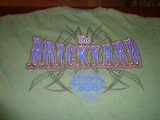 The Brickyard 2007 Allstate 400 Authentic T-Shirt Indy Motor Speedway Large  K2