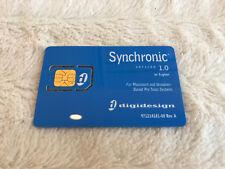 Avid DigiDesign Synchronic Plug In iLok Activation Card No Transfer Fee