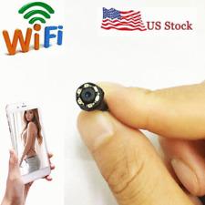 wireless spy IP WIFI mini DIY HD hidden nanny IR micro Pinhole camera video dvr
