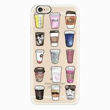For Apple iPhone 8 6s 7 Plus Patterned Rubber Soft TPU Silicone Clear Case Cover