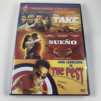 John Leguizamo DVD Set 3 Movies Take Sueno & The Pest Rosie Perez Tyrese Gibson