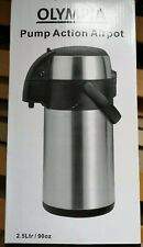 Olympia Pump Action Stainless Steel - 2.5L Airpot
