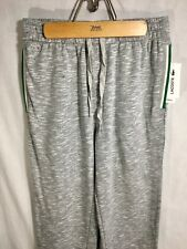 Lactose Sleepwear Pajama Bottoms Grey Marl Size Small
