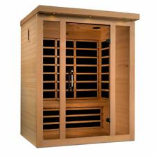 New 2020 Model / Dynamic Vila 3 Person Ultra Low EMF FAR Infrared Sauna New
