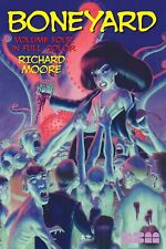 Boneyard Paperback In Color Vol 4 By Richard Moore *98 PAGES*OUT OF PRINT*NEW*