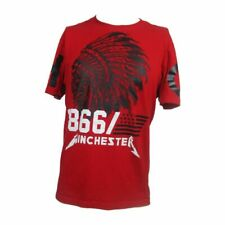 Winchester 1866 T-shirt Large  Chief Skull (O-4)