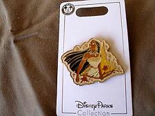 Disney * PRINCESS POCAHONTAS & SPARKLE CASTLE * New on Card Trading Pin