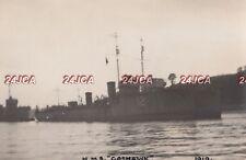 "Royal Navy Real Photo. HMS ""Goshawk"" Destroyer.   Dogger Bank. Rare! 1919"