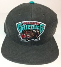 Vancouver Grizzlies Mitchell & Ness NBA Snapback Hat Classic Logo One Size Gray