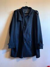 Etiqueta Negra Abrigo para hombre de lana 3 Xl (XXXL)