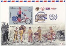 [SS] Malaysia 2012 Postman's Uniform M/S