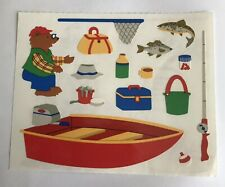 Mrs Grossman FISHING Stickers OUT OF PRINT